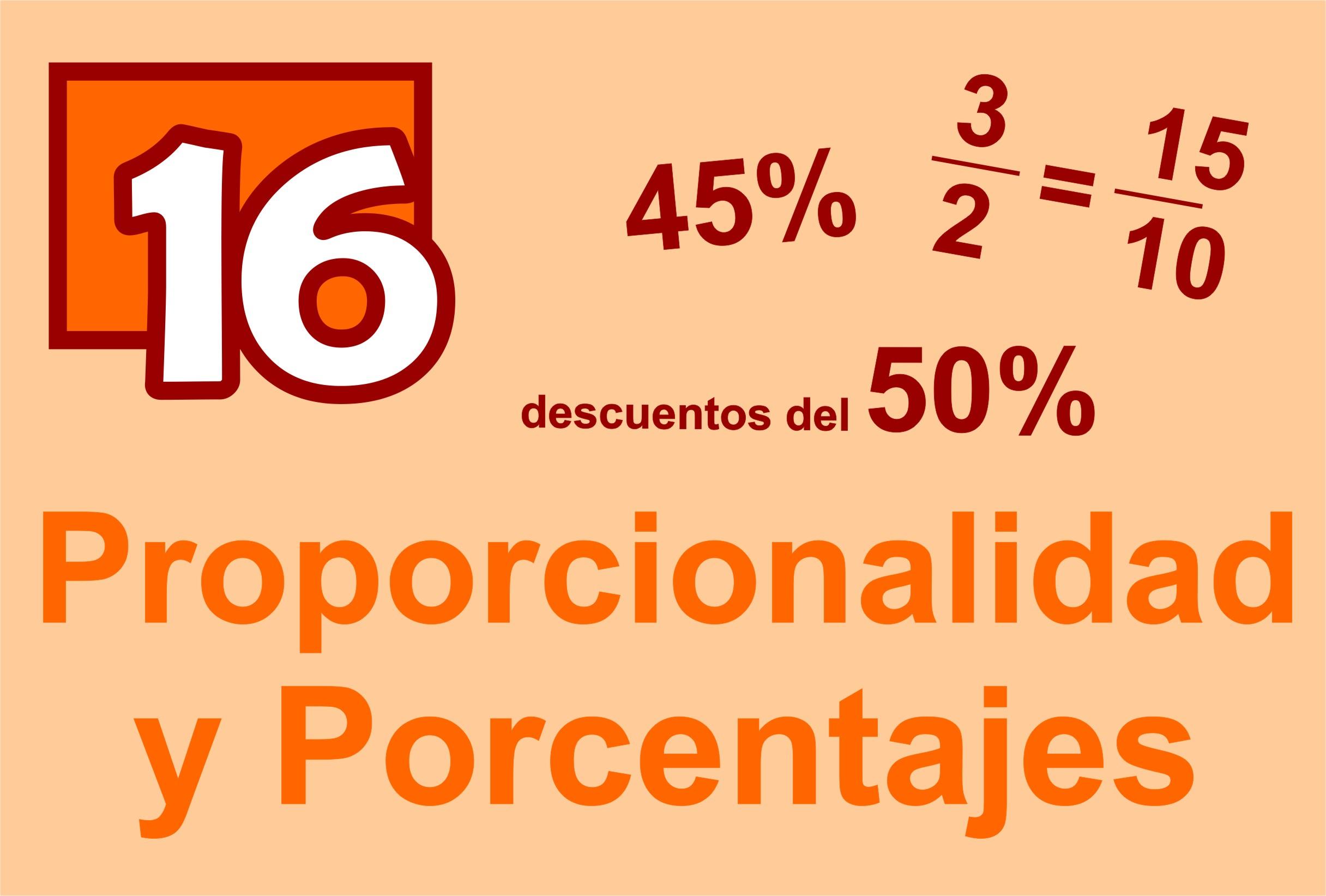 Proporcionalidad Y Porcentajes Módulo De Aprendizaje