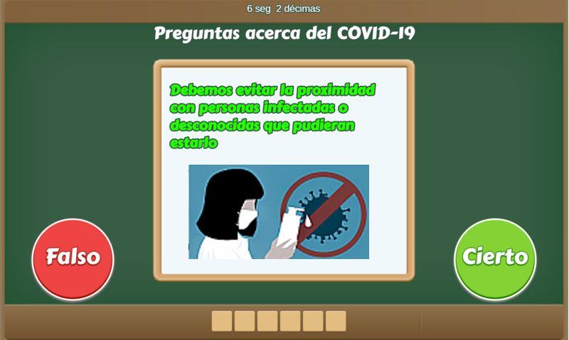 Verdadero O Falso Con Covid 19 Uruguay Educa