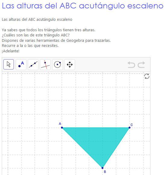 Altura en los triángulos. Segunda parte | Uruguay Educa