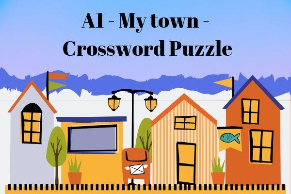 My town - crossword puzzle