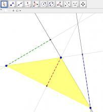 Altura en los triángulos. Primera parte | Uruguay Educa